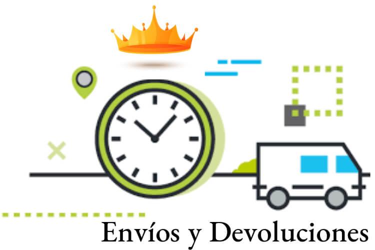 envíos y devoluciones tienda popper online España