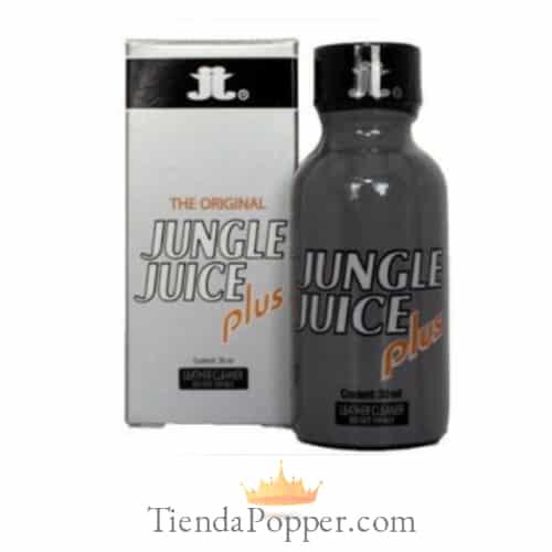 popper jungle juice plus grande con la imagen del bote y su caja